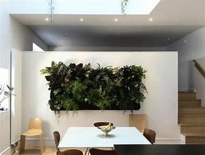 Pflanzen An Der Wand : gr ne living wall installationen f r ihr modernes innendesign ~ Articles-book.com Haus und Dekorationen