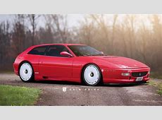 It's a Ferrari F355 shooting brake! Top Gear
