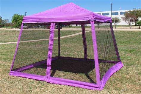 xx pop  canopy party tent gazebo ez  net purple  ebay