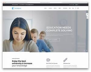 33 Best Free  U0026 Premium Education Website Templates 2020