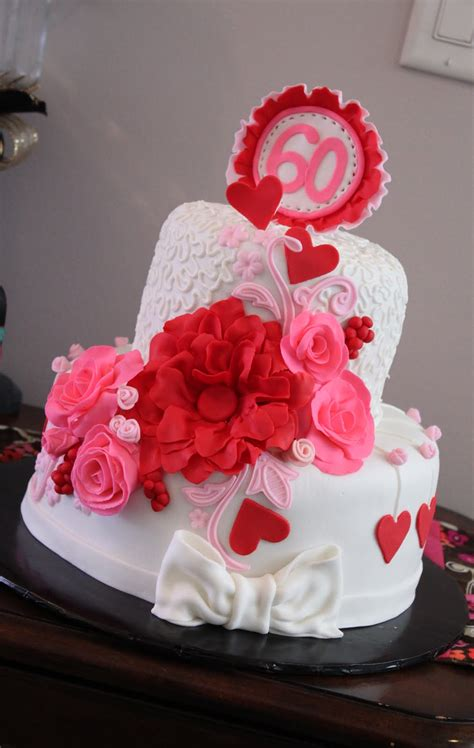 Thinking for best cake design seems to be confusing, but now you can visit some online or offline bakeries only from you smartphone, tablet. Layers of Love: Valentine 60th birthday cake