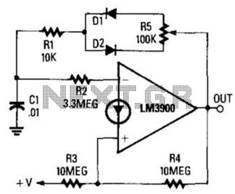 Square Wave Oscillator Circuit Circuits