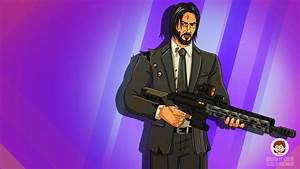 How To Draw John Wick With Gun