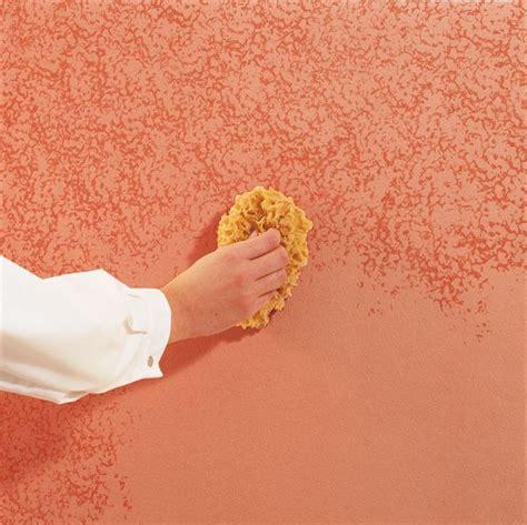 Wandfarbe Streichen Techniken by Streichen Mit Schwamm Streichen Mit Schwamm Gartenideen