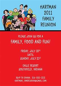 Party411 - Family Reunion Invitations and Party Favors ...