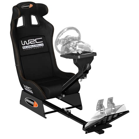 siege baquet volant ps3 playseats wrc siège simulation automobile noir base noir