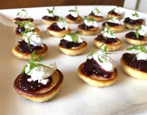 simple canapes goat cheese and balsamic beetroot canapes recipes