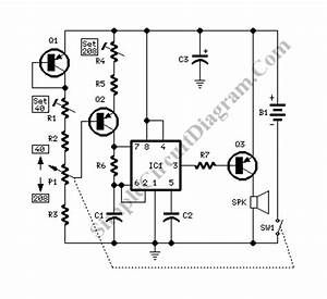 electronic metronome simple circuit diagram With circuit mc68ec030rp electronic components from reliable circuit