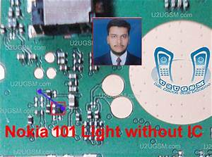 Nokia X1 Lcd Light Ways Nokia 101 Light Problem Solution Without Ic 100 Tested