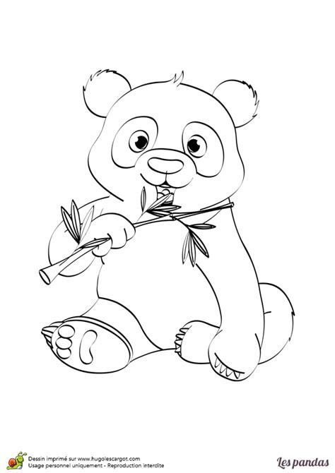 jeux de cuisine gratuit en francais dessin à imprimer et à colorier d un panda avec un bambou