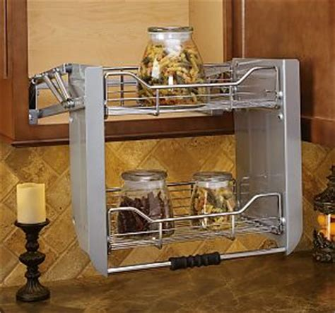 rev  shelf pd crn premiere   mm wide pull  shelving system chrome