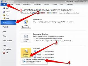 how to recover unsaved word document With buy word document