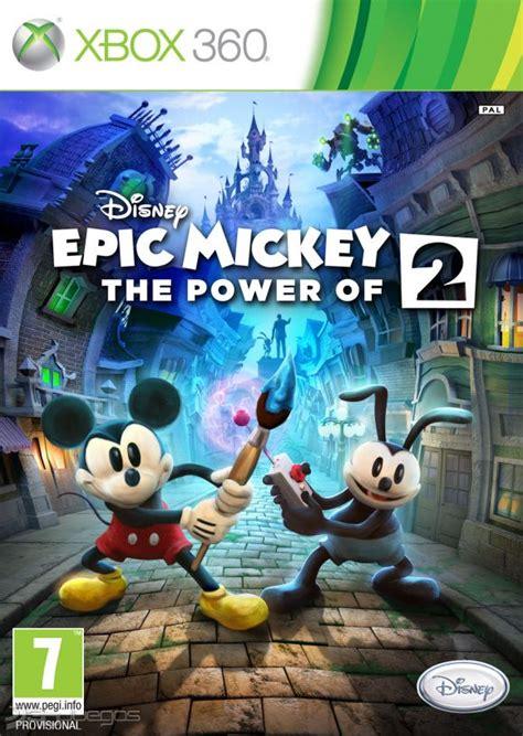 Bueno amigos espero les guste y les sea util el video de esta semana, esta segunda parte de juegos para 4 jugadores para xbox clasico. Epic Mickey 2 El Retorno de Dos Héroes para Xbox 360 - 3DJuegos