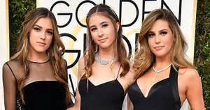 Golden Globes 2017: Sylvester Stallone's Daughters on Red