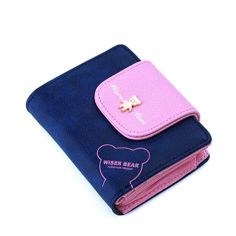 ᓂ2017 Brand New ᐃ Lovely Lovely Bear Wallet Female Leather
