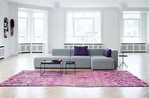 50 idees deco de canape With tapis moderne avec canapé d angle violet