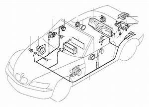 Bmw Z3 Audio Wiring Harness Hifi  System  Single