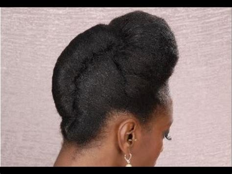 Hairstyles For Black Hair by Roll Hairstyle For Black Hair