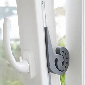 Gekippte Fenster Sichern : wenko multifunktionaler stopper 3er set grau kaufen ~ Michelbontemps.com Haus und Dekorationen