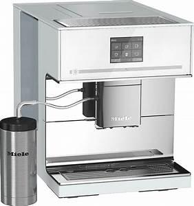 Miele kaffeevollautomat cm 7500 brillantweiss vs elektro for Miele kaffeevollautomat