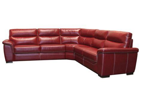 grand canap d angle cuir canapé d 39 angle fixe 5 places en cuir coloris