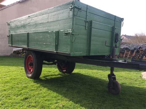 traktor anhänger gebraucht einachser traktor anh 228 nger einachser in steinheim anh 228 nger auflieger kaufen und verkaufen 252 ber