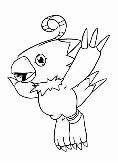 Digimon Coloring Imprimir Kleurplaten Colorear Dibujos Ausmalbilder