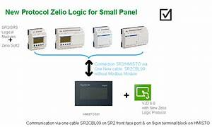 Can I Connect An Sr2 Or Sr3 Zelio Logic Smart Relay To An Hmi  Separate Display Screen
