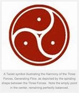 Taoist symbol representing the three treasures/jewels. We ...