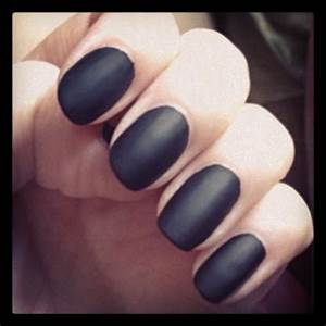 Black Matte Nails Pictures, Photos, and Images for ...