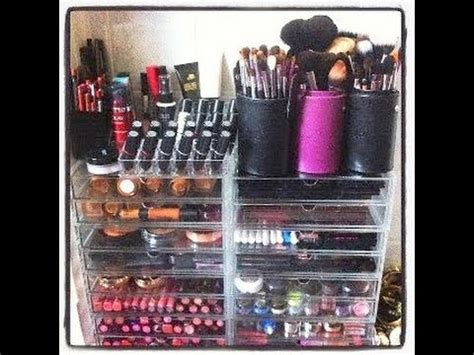 makeup collection storage youtube