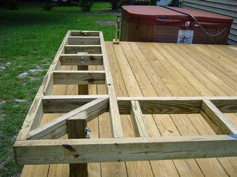 deck benches on deck storage bench deck