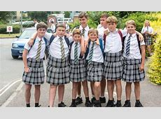 School where boys protested in skirts WILL allow shorts