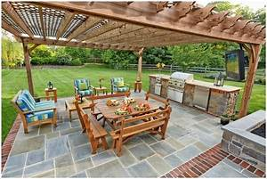 10, Amazing, Outdoor, Barbecue, Kitchen, Designs