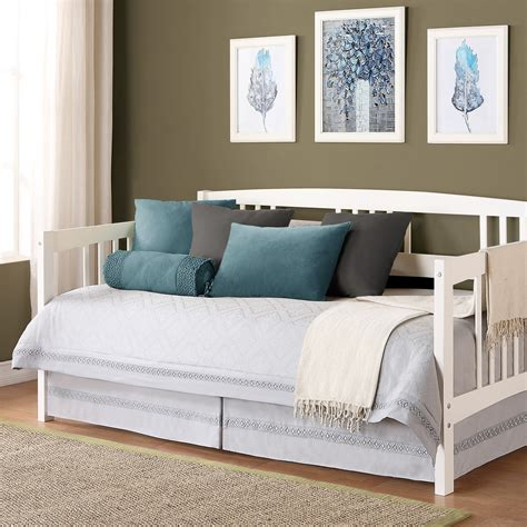 daybeds for white wooden daybed with storages completed by