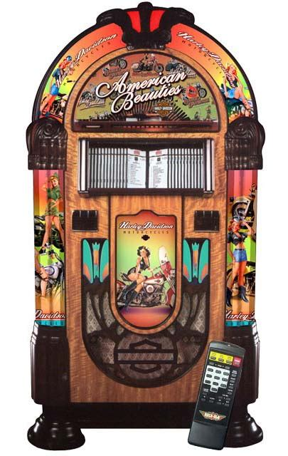 harley davidson cd juke box  rockola billiards