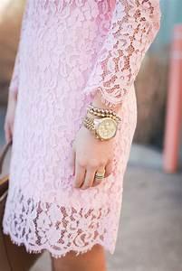 Pink Lace Dress A Southern Drawl