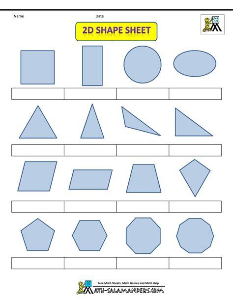 shape 2 d printable shapes 2d and 3d