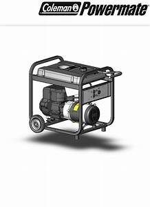 Powermate Portable Generator Pm0525303 02 User Guide