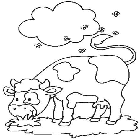 disegni per bambini animali della fattoria animali della fattoria da stare acolore