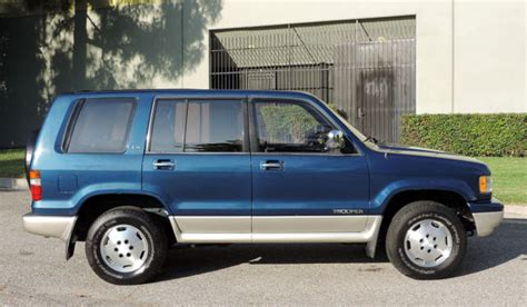 how can i learn about cars 1994 isuzu trooper spare parts catalogs isuzu trooper suv 1994 blue for sale jacdh58w0r7905423 california original 1994 isuzu trooper