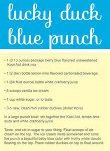 Punch Recipes Baby Shower Image