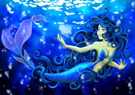 Anime Mermaid Wallpaper - mermaid anime cool wallpapers 11446 amazing wallpaperz