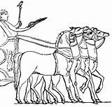 Chariot Roman Horse Clip Clipart Chariots Greek Pages Colouring Drawn Coloring Etc Sketch Transportation Usf Edu Medium 1024 Template sketch template