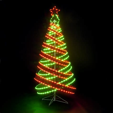 green light christmas tree sale on 120cm 4ft outdoor indoor red green 456 led