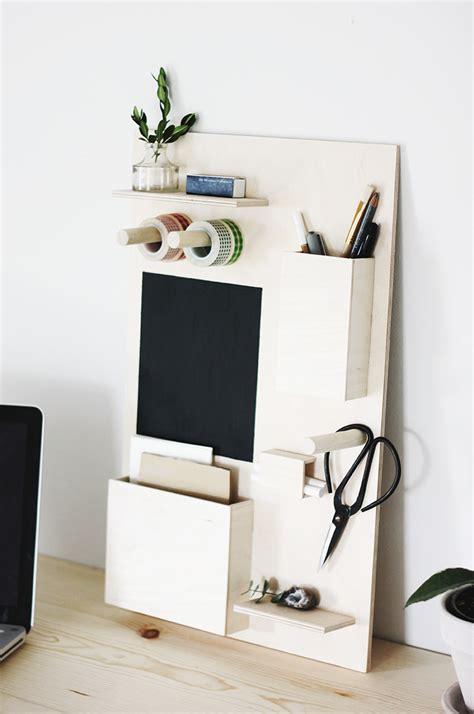 DIY Desk Organizer - The Merrythought