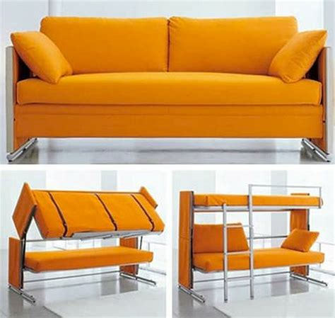 sofas that become beds transformer couch to bunk bed gadgetking com