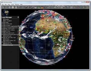 NASA World Wind - скачать бесплатно NASA World Wind 1.4.0