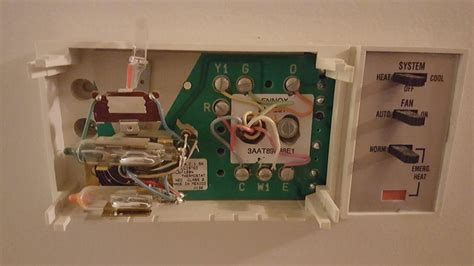 Heat Pump Thermostat Replacement Hvac Diy Chatroom