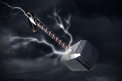Thor 4k Mjolnir Hammer Wallpapers Wallpaperaccess Backgrounds